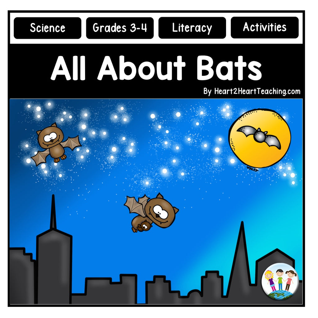 All About Bats Activity Pack