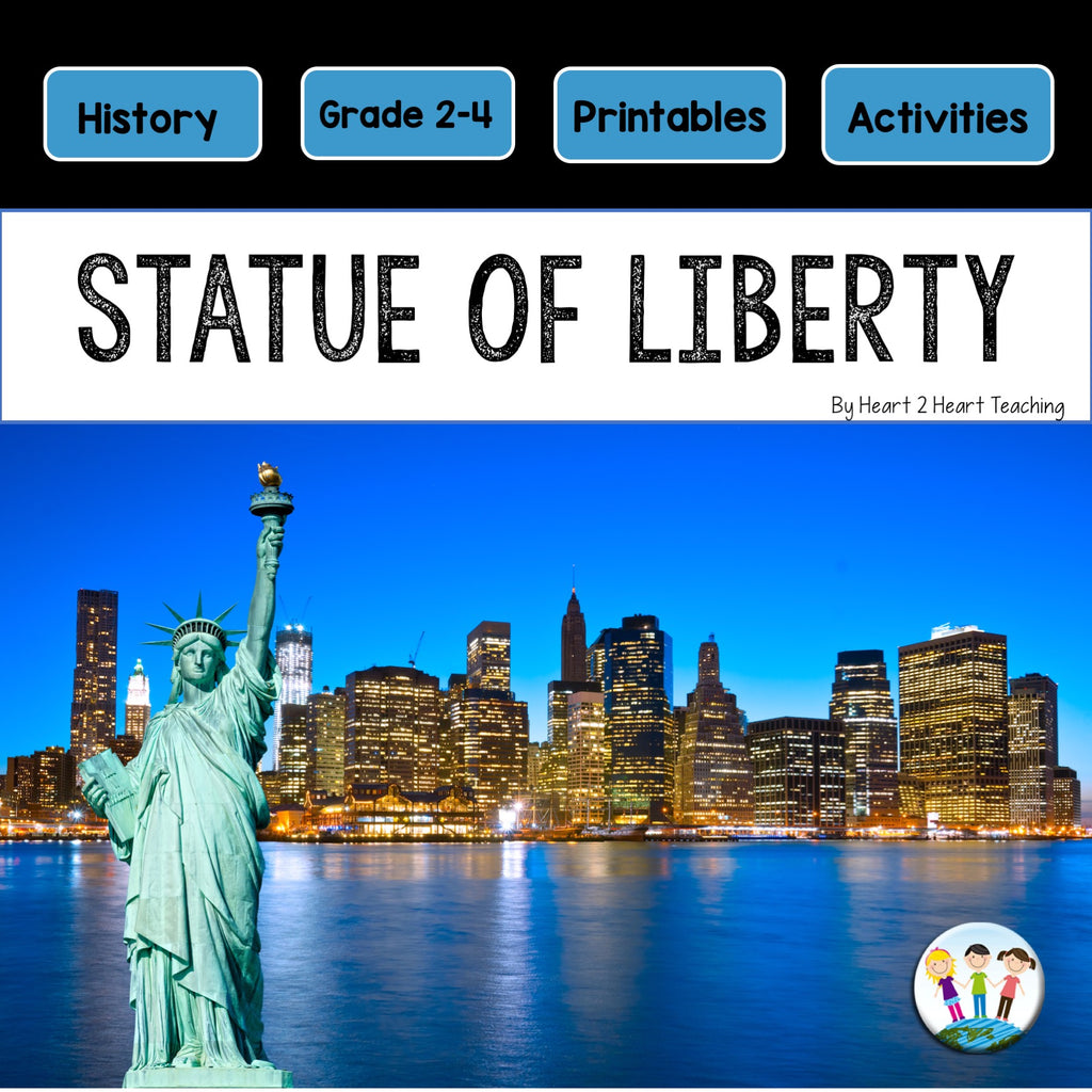 Let's Learn About the Statue of Liberty Mini Unit