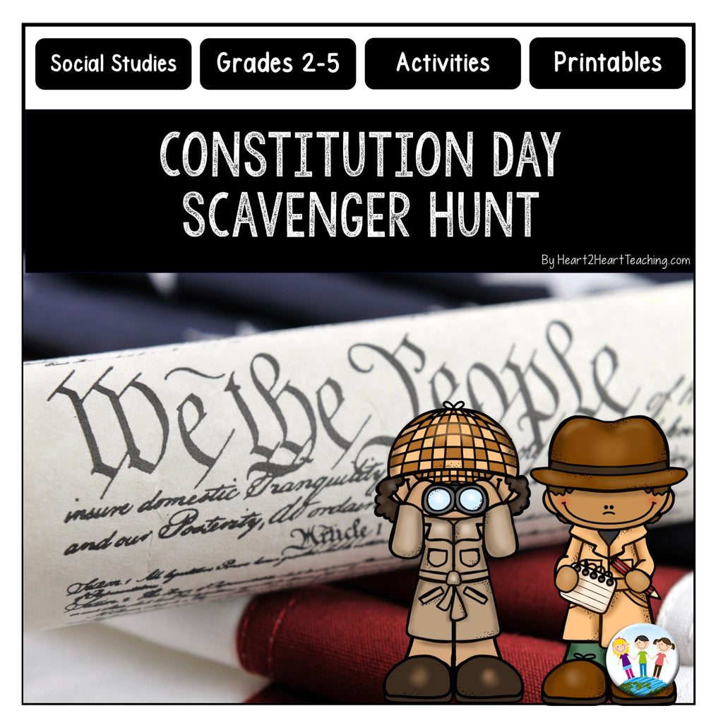 Let's Go on a Constitution Day Scavenger Hunt