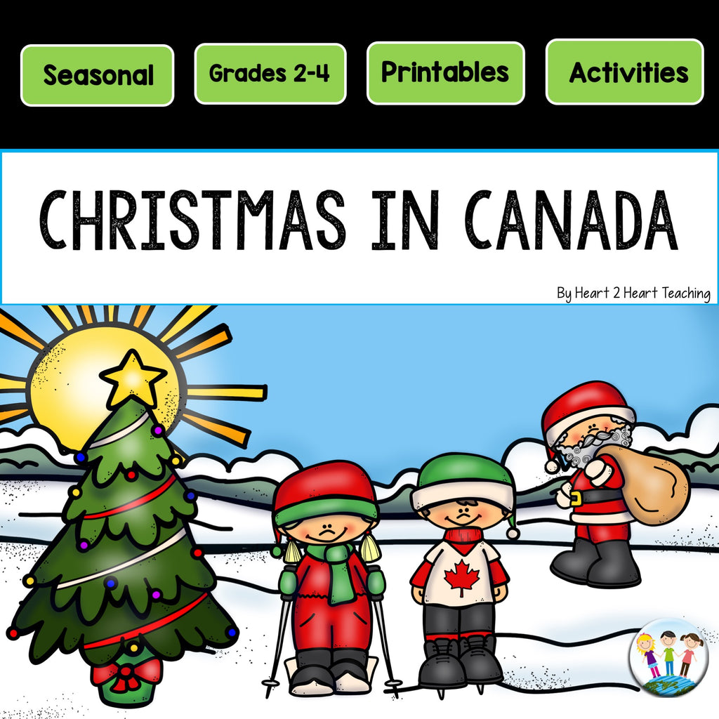 Christmas in Canada Activity Pack