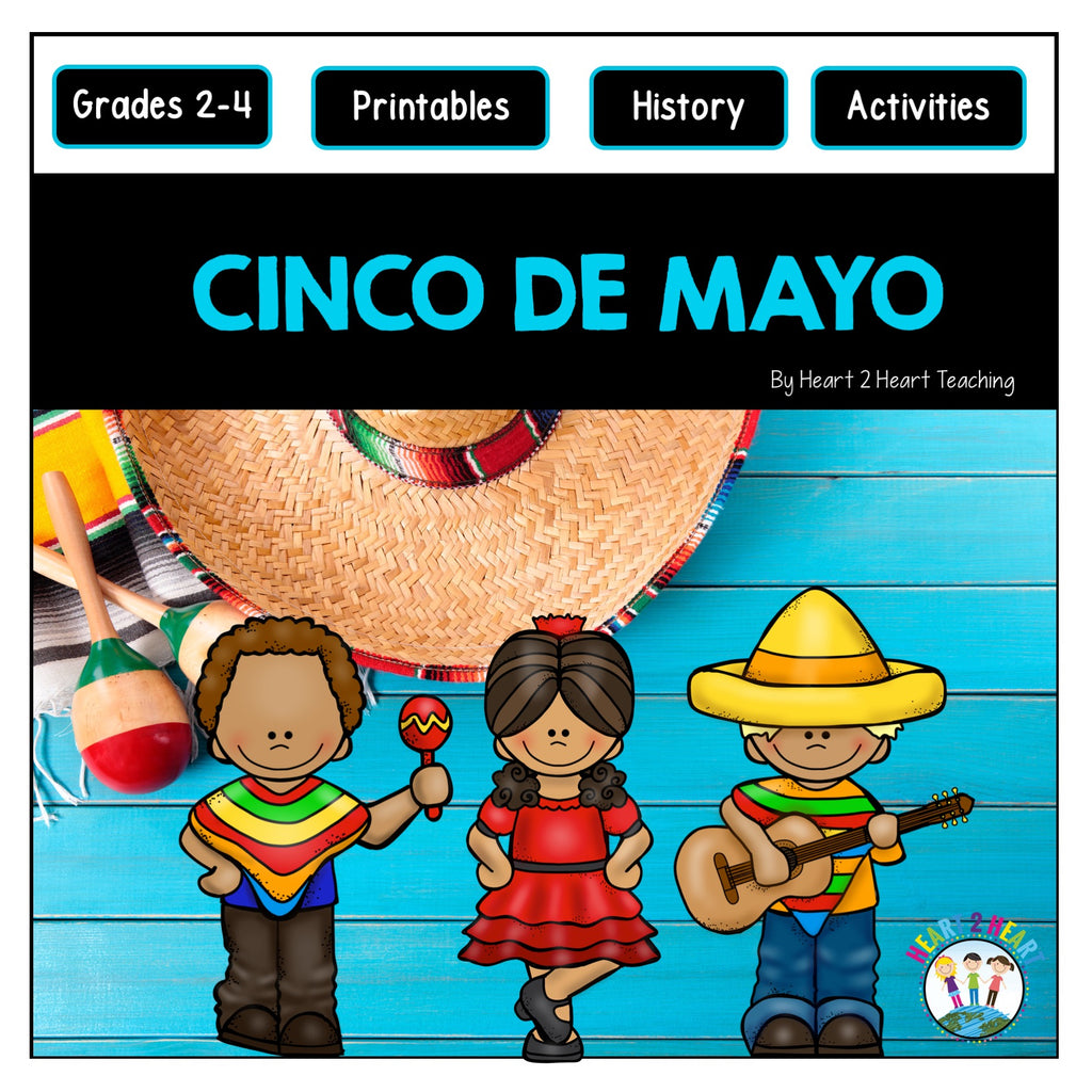 Cinco De Mayo Activities & Flip Book