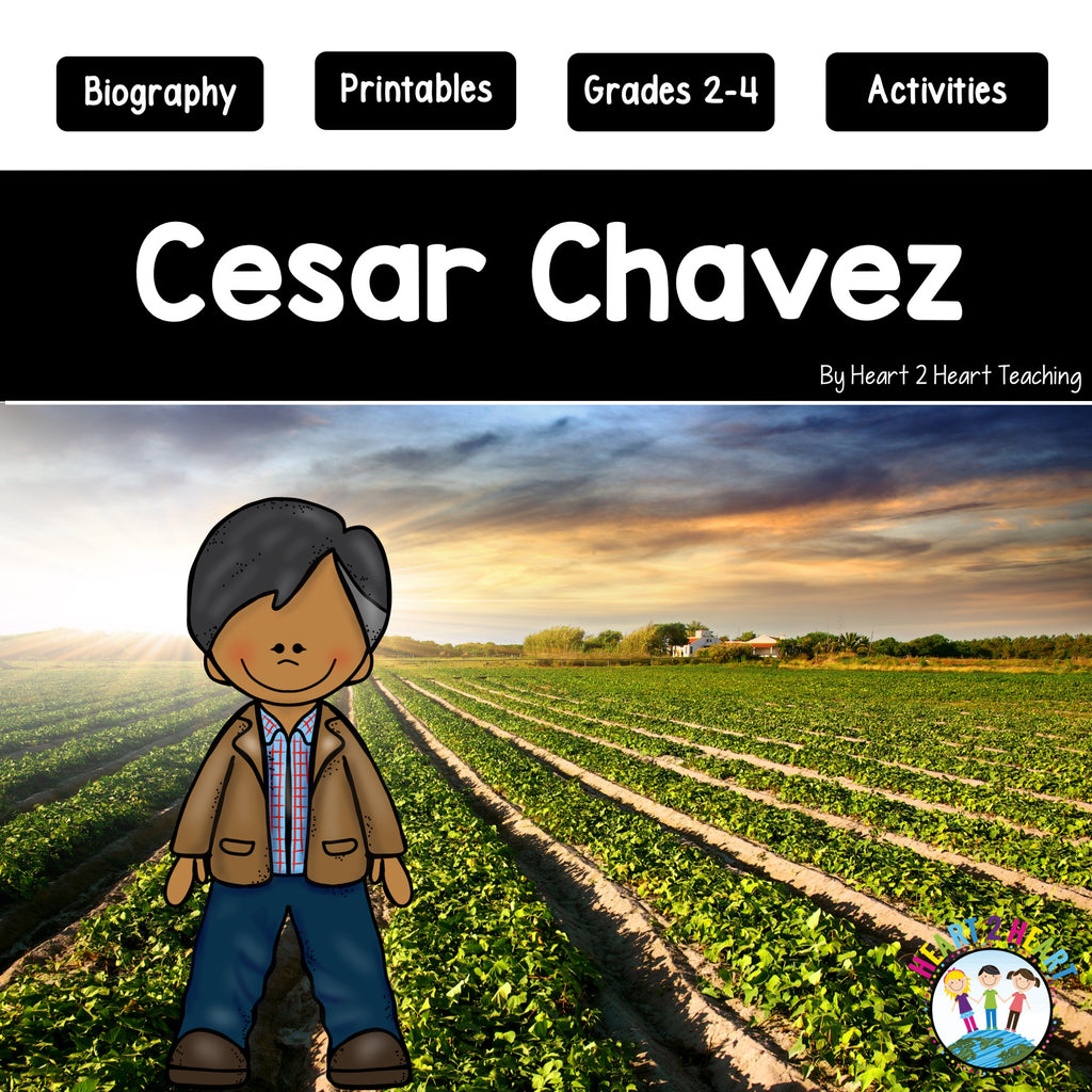 The Life Story of Cesar Chavez Activity Pack