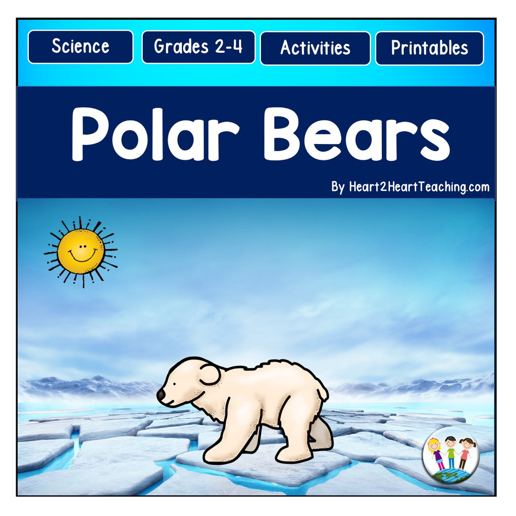 Polar Bears Activity Pack