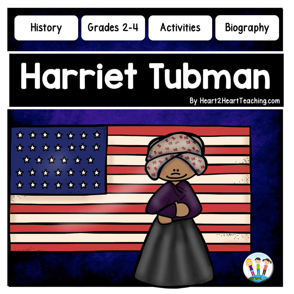 The Life Story of Harriet Tubman Activity Pack