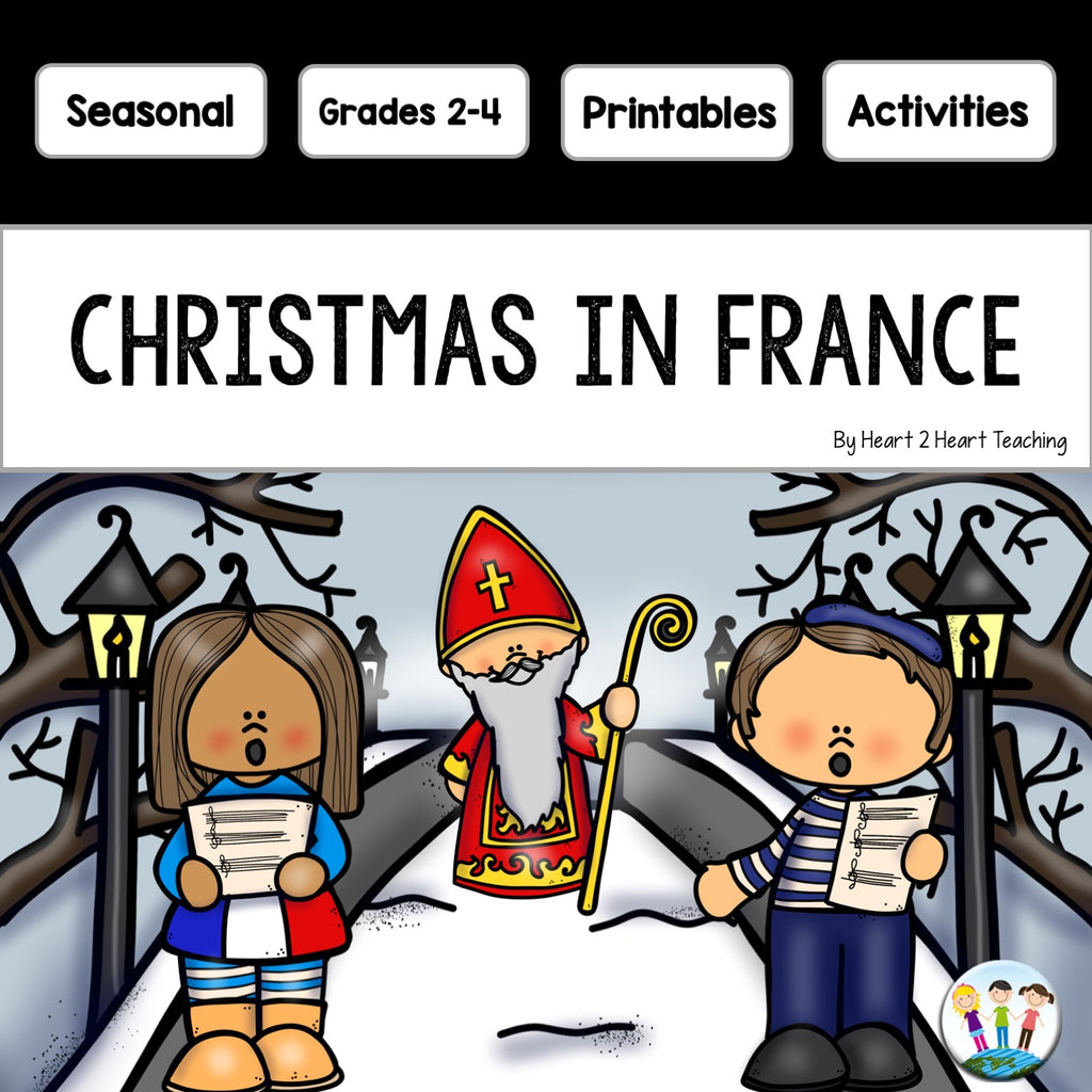 Christmas in France Activity Pack