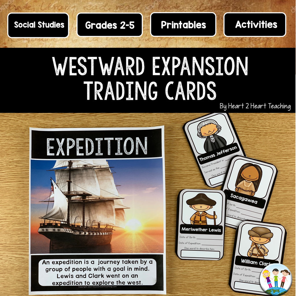 Westward Expansion Trading Cards