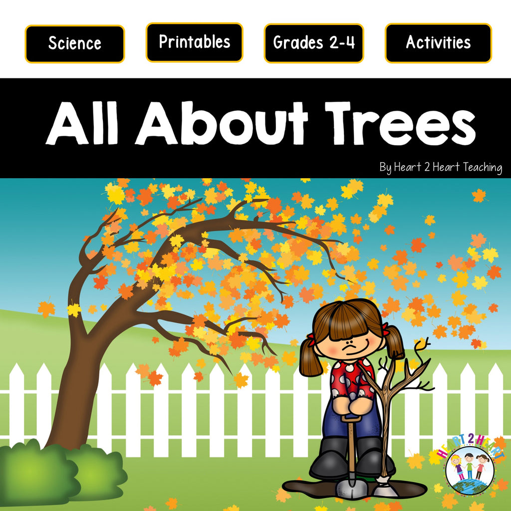All About Trees Unit: Deciduous and Coniferous