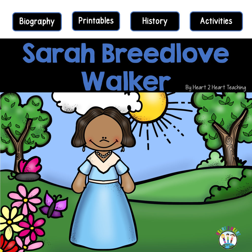 The Life Story of Sarah B. Walker Activity Pack