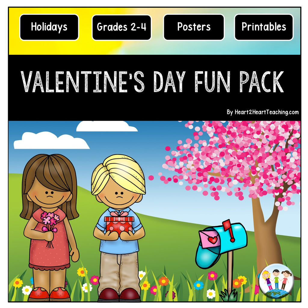 Valentine's Day Activities Fun Pack