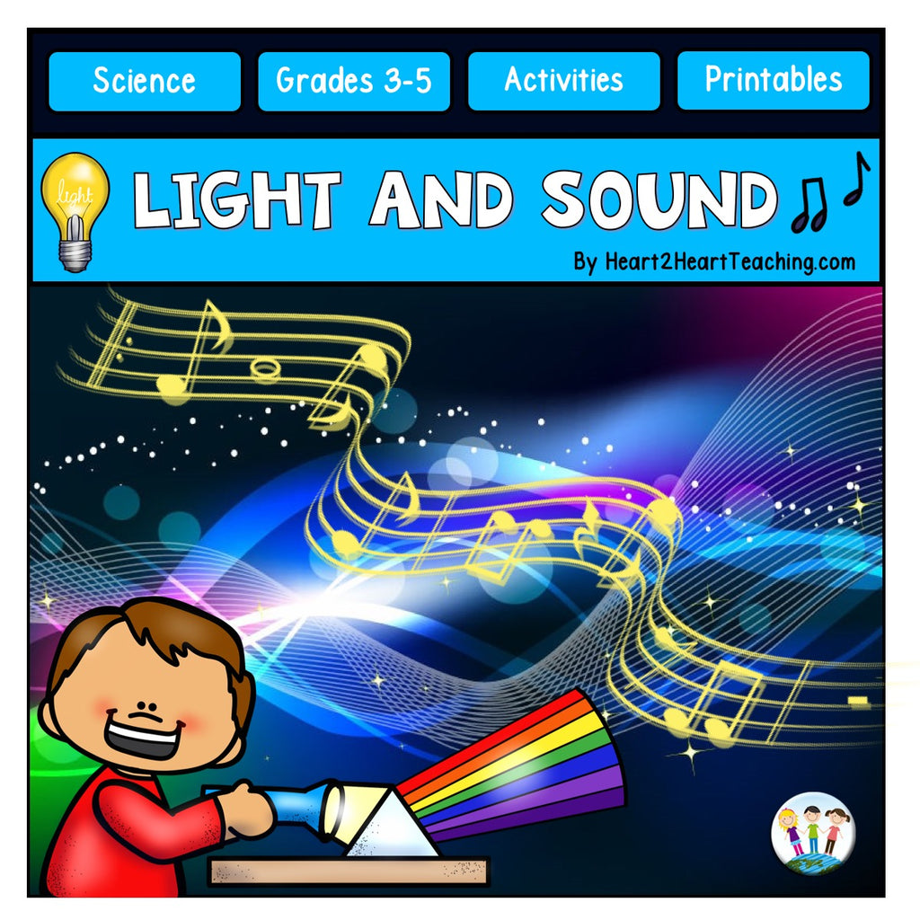 Light and Sound Unit with Issac Newton, Alexander Graham Bell, & Albert Einstein