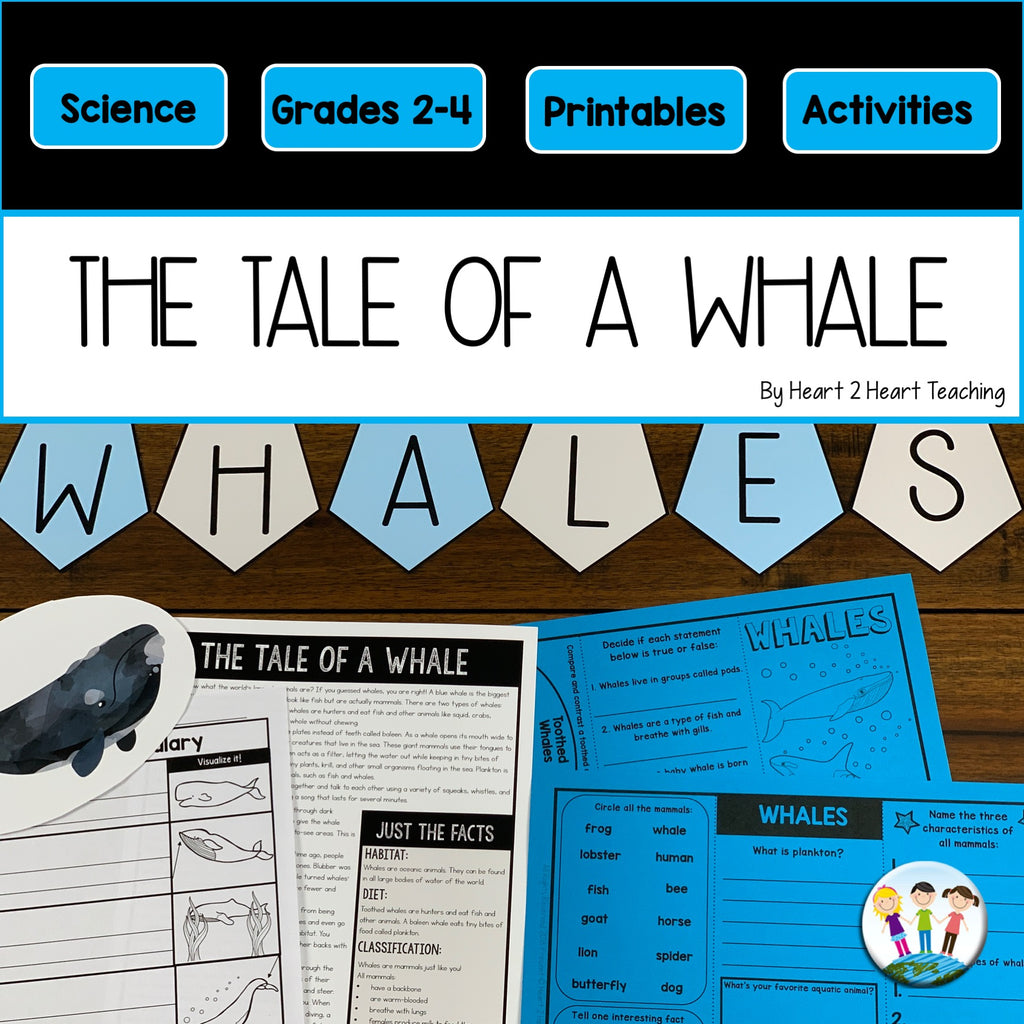 The Tale of Whale Craft and Activity Pack