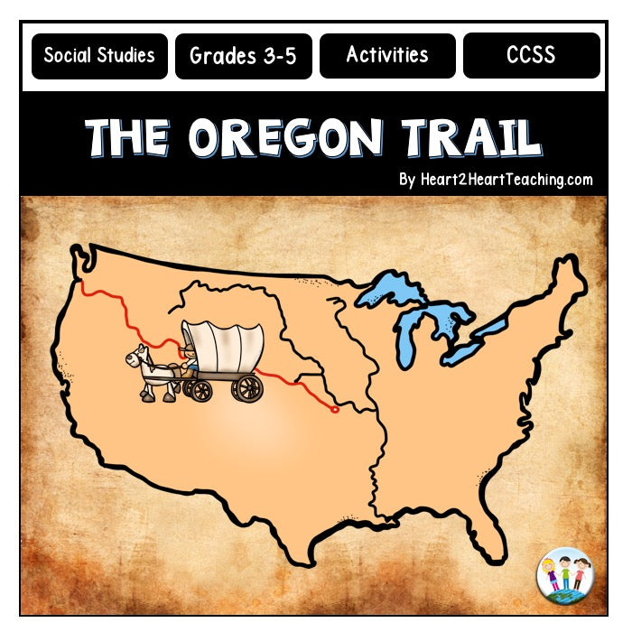 Let's Explore the Oregon Trail Activity Pack