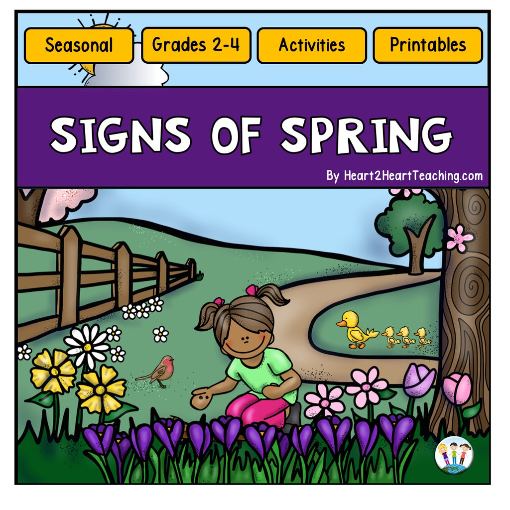 The Signs of Spring Activity Pack