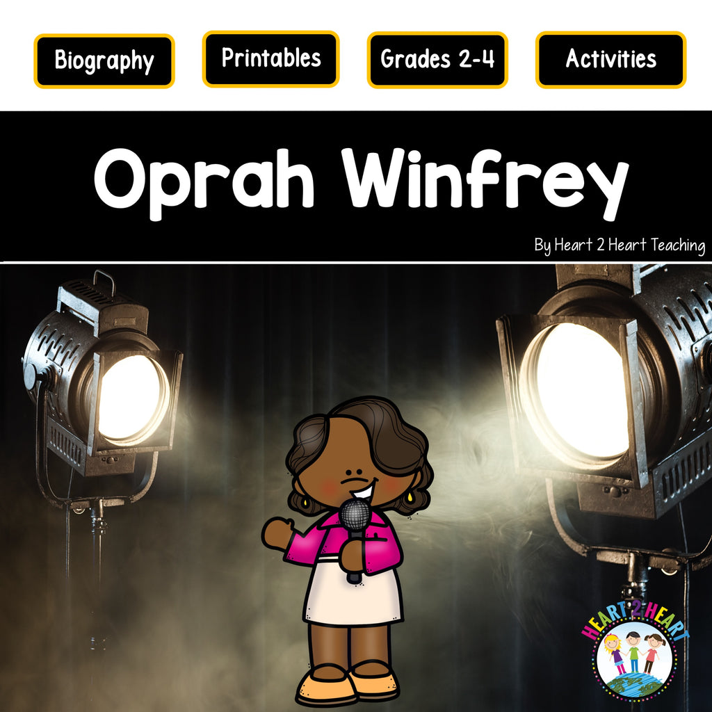 The Life Story of Oprah Winfrey Activity Pack