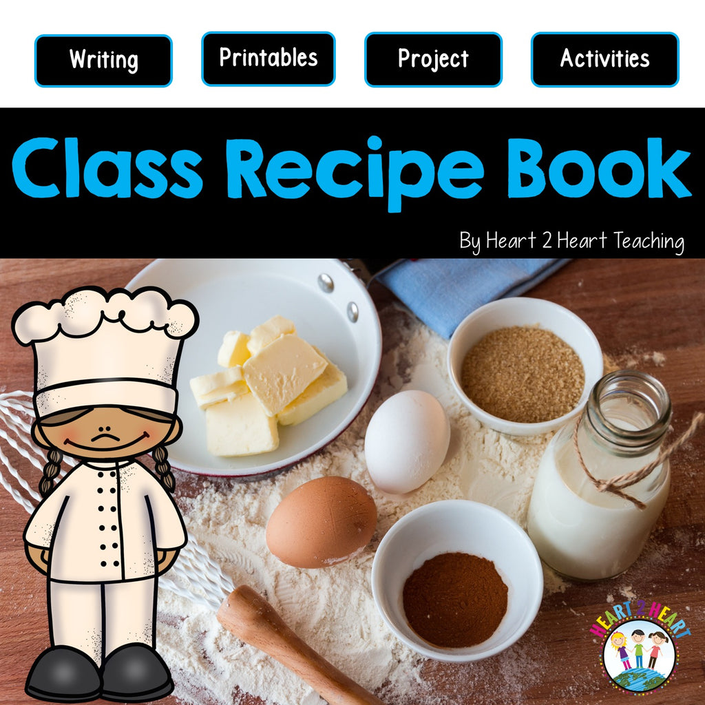 Make a Recipe Book: A Fun Project