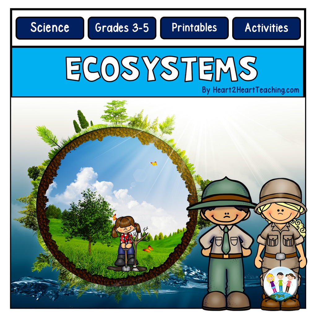 Ecosystems: Biomes, Food Chains, Photosynthesis, Animal & Meet John Muir