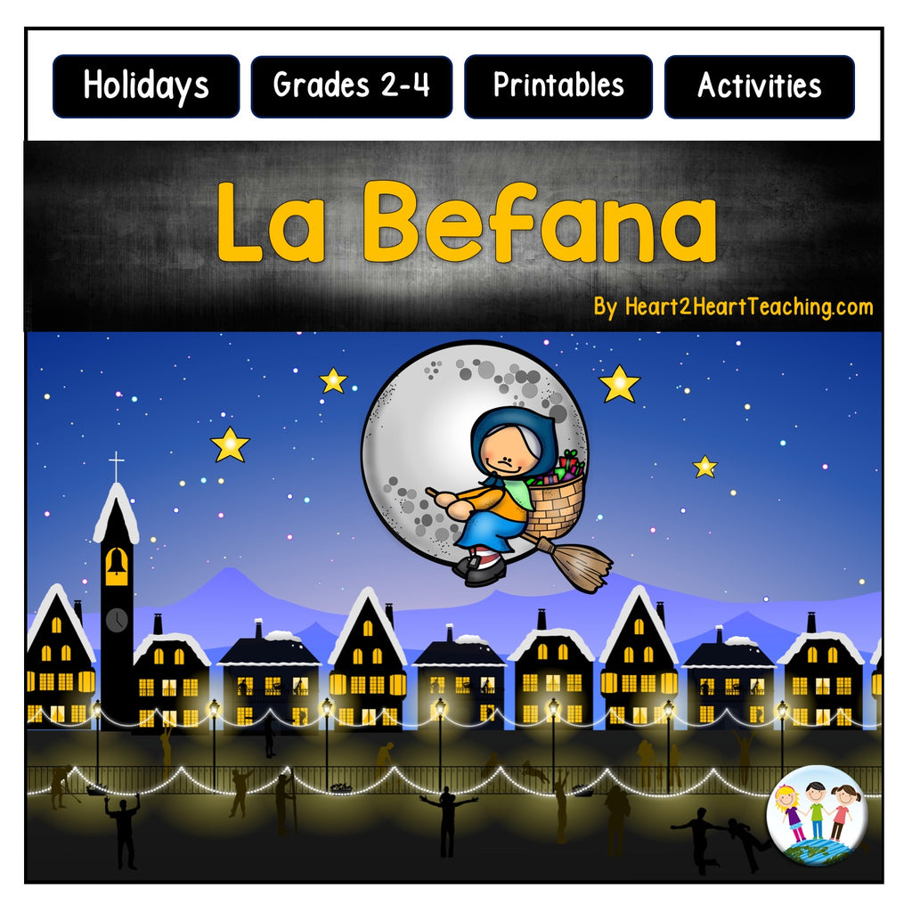 Christmas in Italy: La Befana Activities and Flip Book