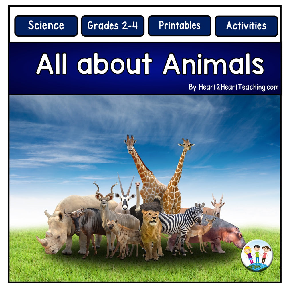 Let's Learn About Animals with Carnivores, Herbivores, and Omnivores