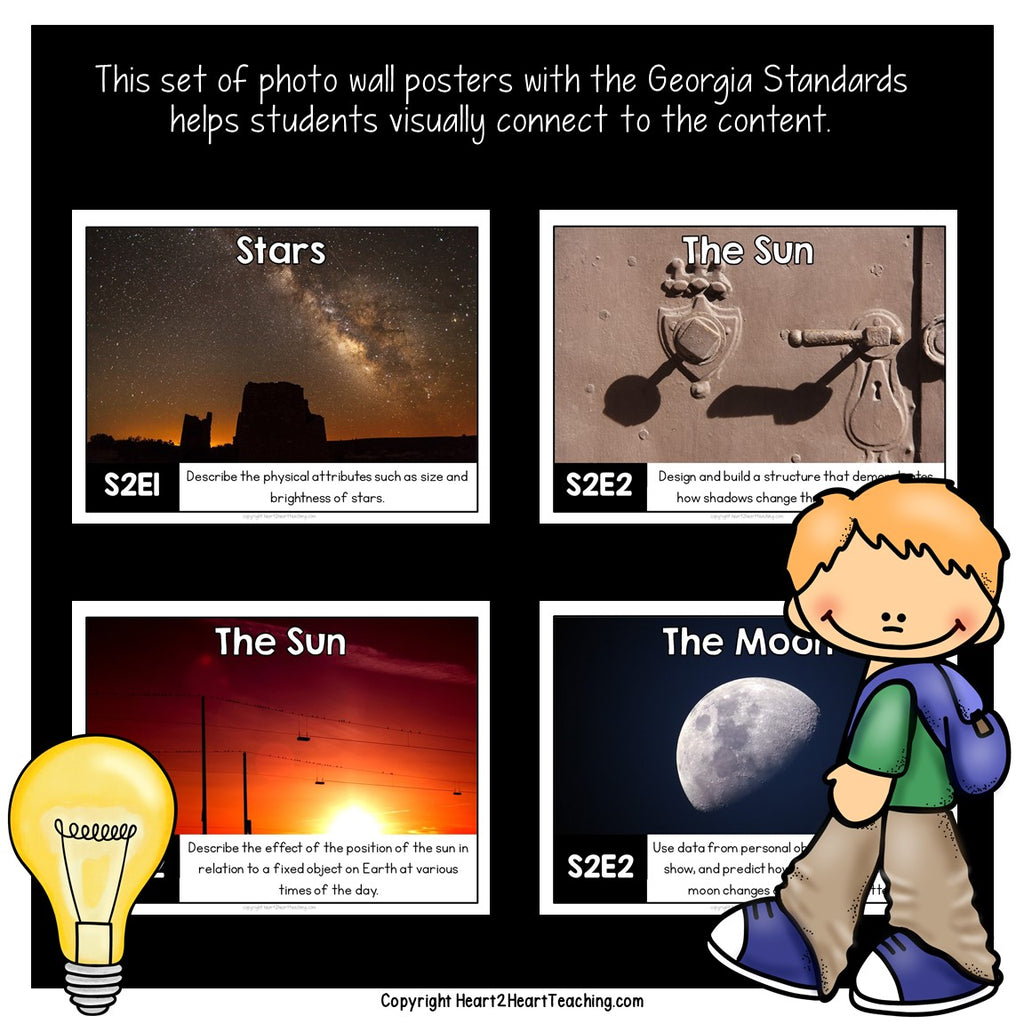 Georgia Standards of Excellence 2nd Grade Science Posters