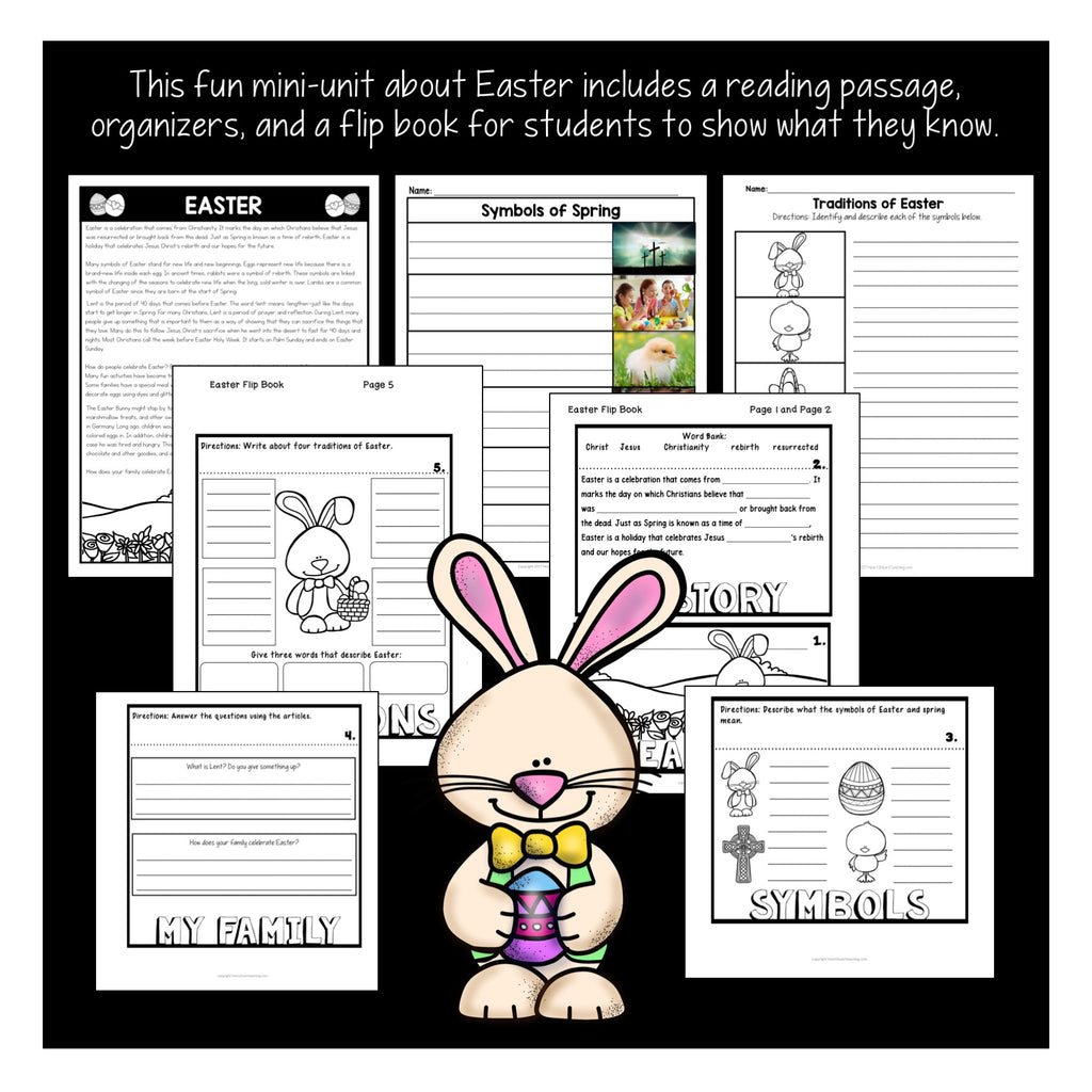 Easter Activities for Kids {Traditions of Easter}
