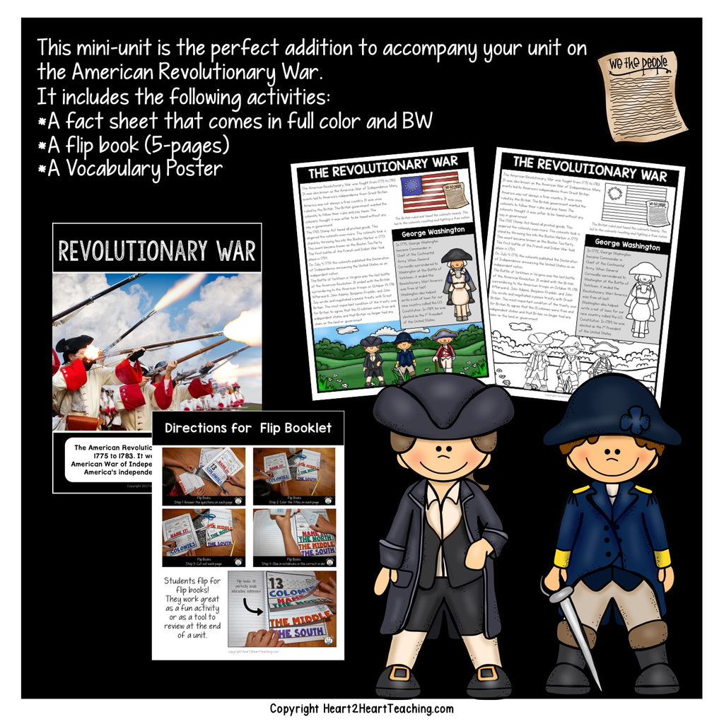 Let's Learn About the  Revolutionary War
