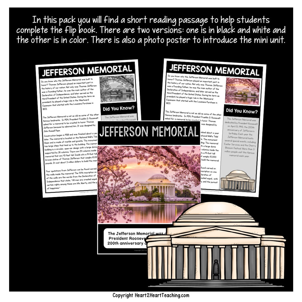 Let's Learn About the Jefferson Memorial