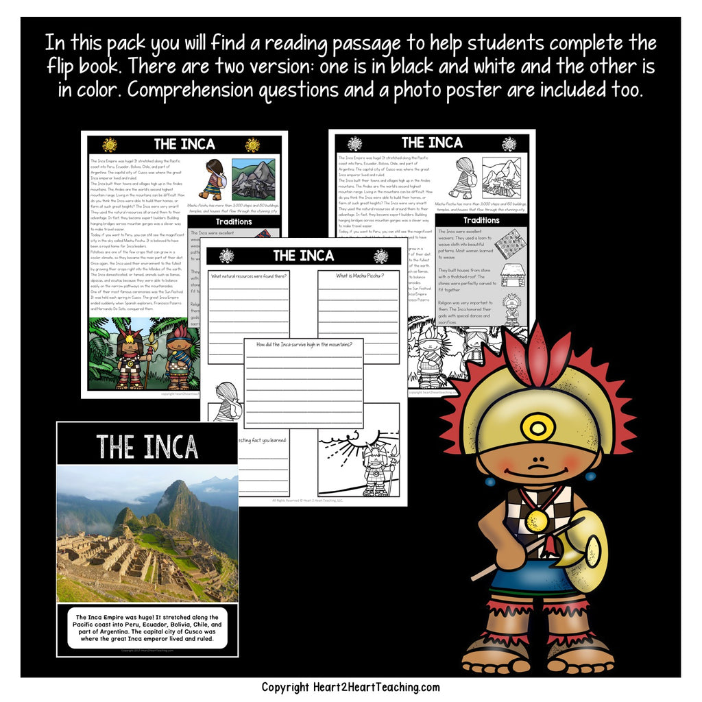 Let's Learn About the Incas Mini Unit