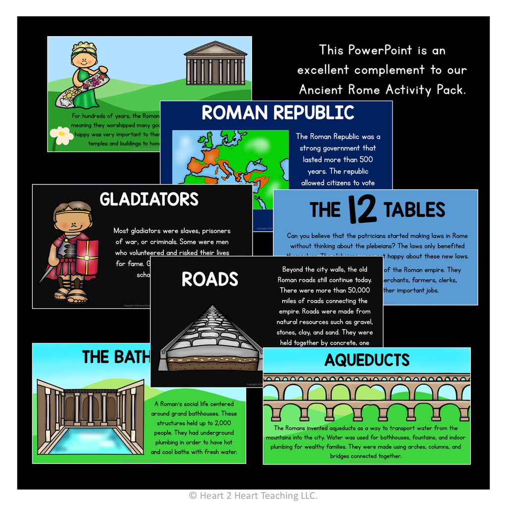 Life in Ancient Rome PowerPoint