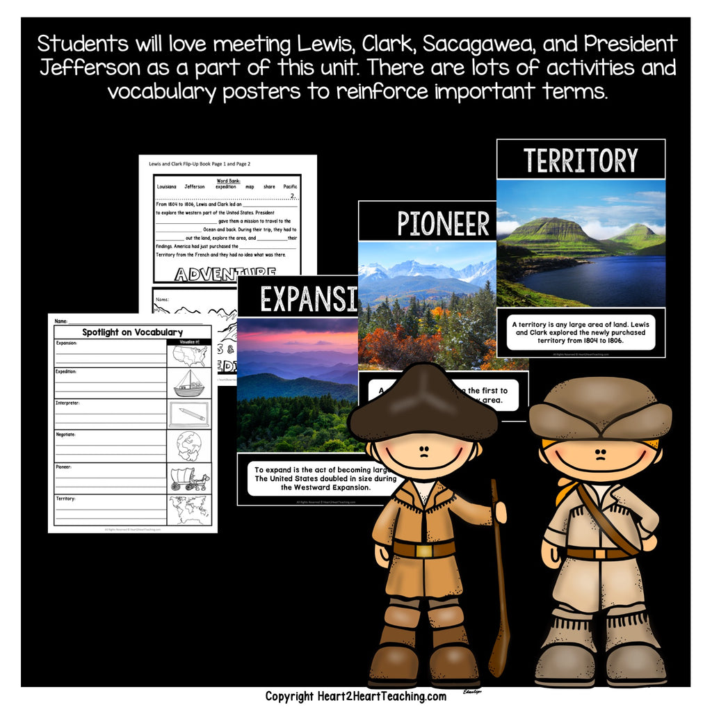 Westward Expansion: Let's Learn About the Lewis and Clark Expedition
