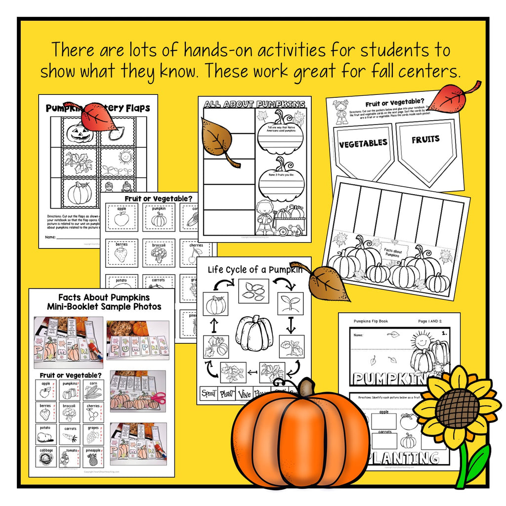Fall Activities: Pumpkin Activities for Science Centers
