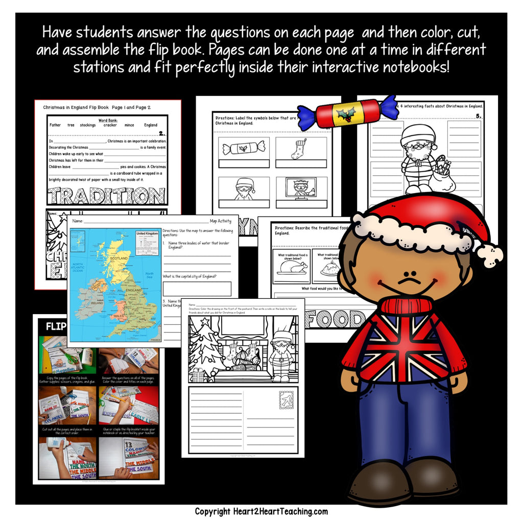 Christmas in England Activity Pack