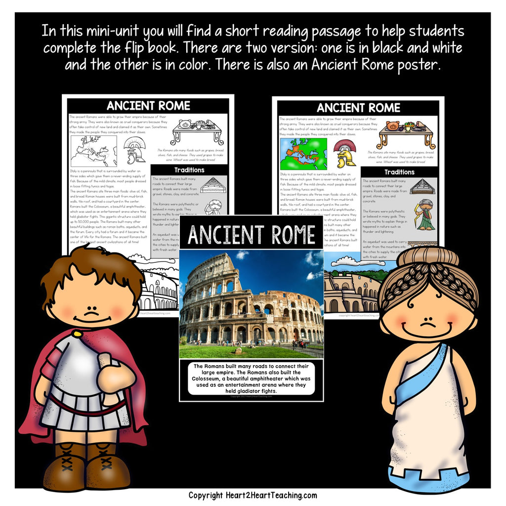 Let's Learn All About Ancient Rome