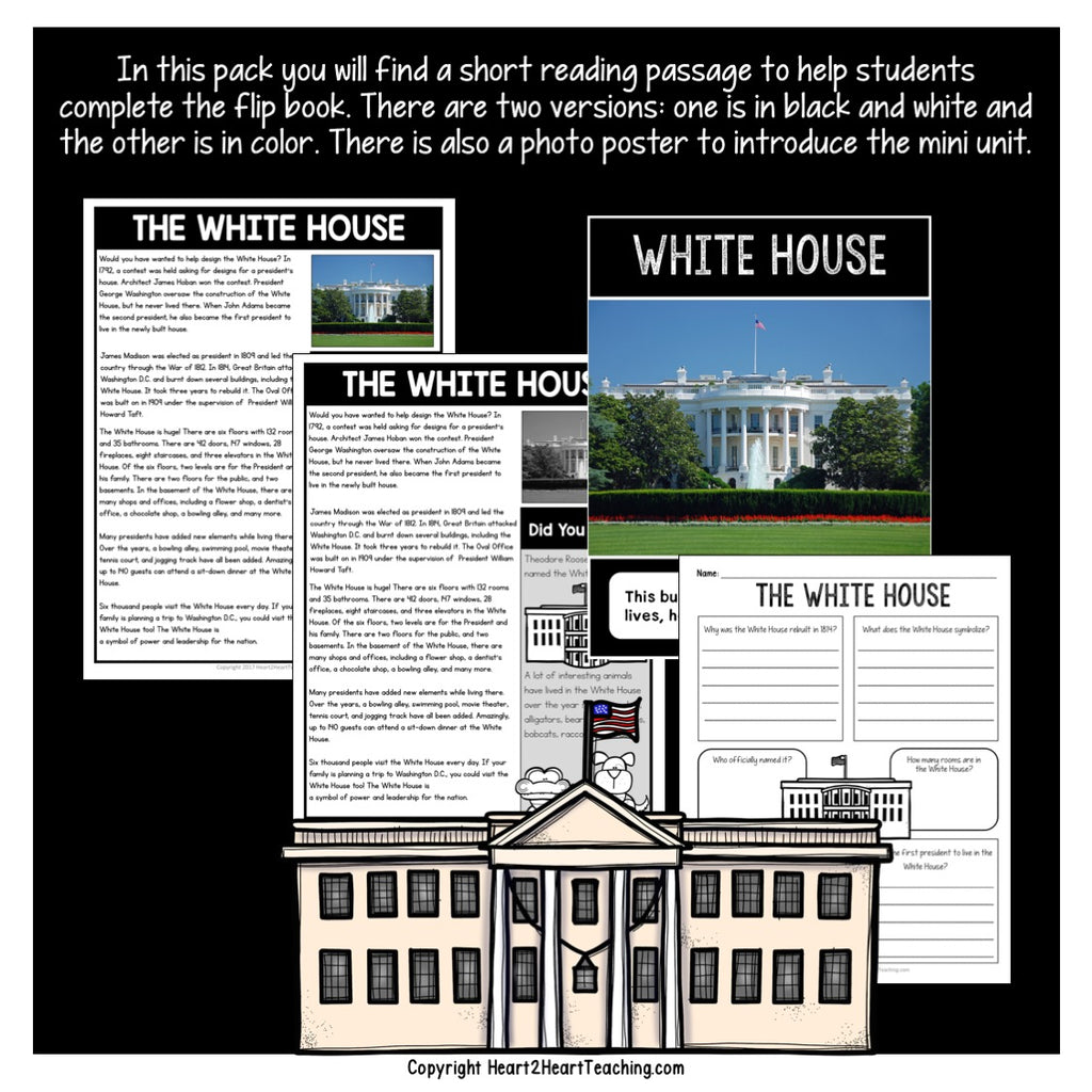 Let's Learn all about the White House