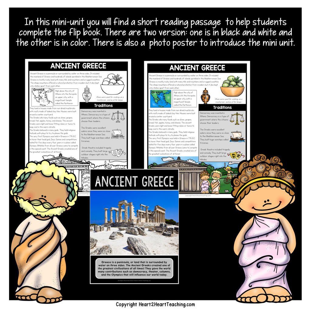Let's Learn All About Ancient Greece Mini Unit