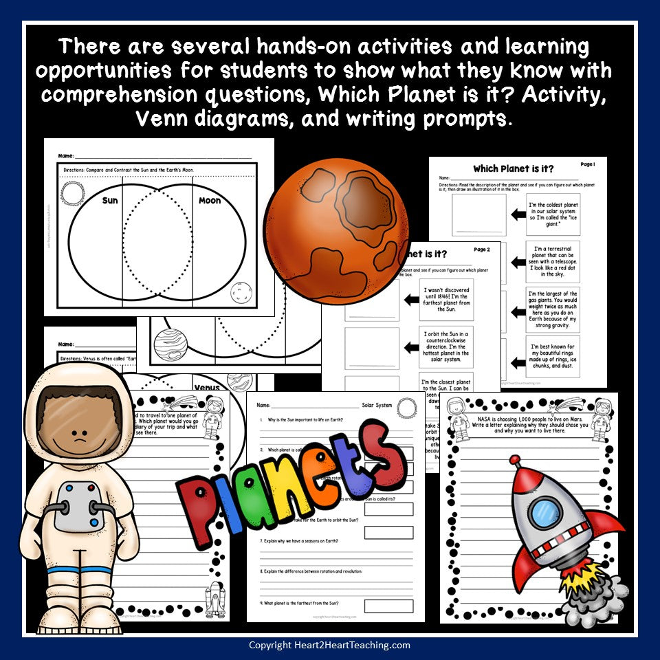 Let's Explore Our Solar System Activity Pack