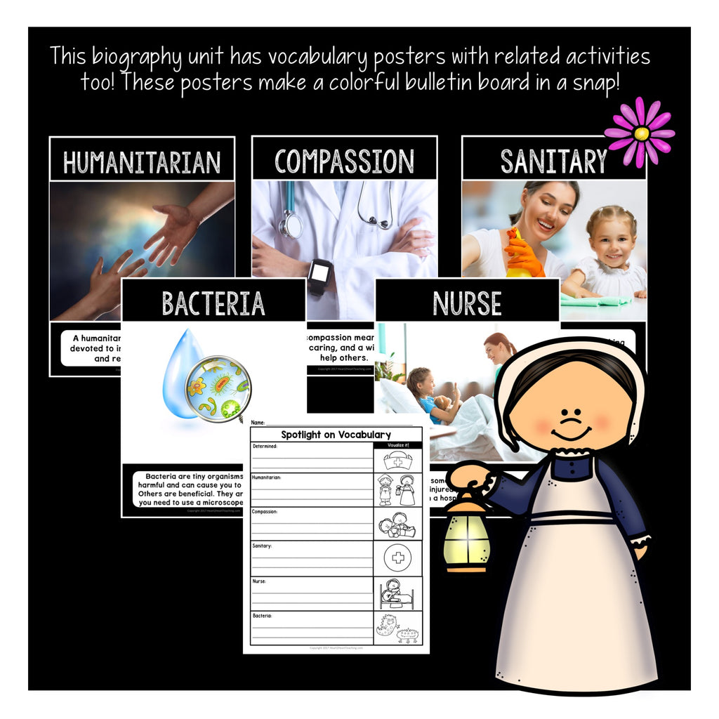The Life Story of Florence Nightingale Activity Pack