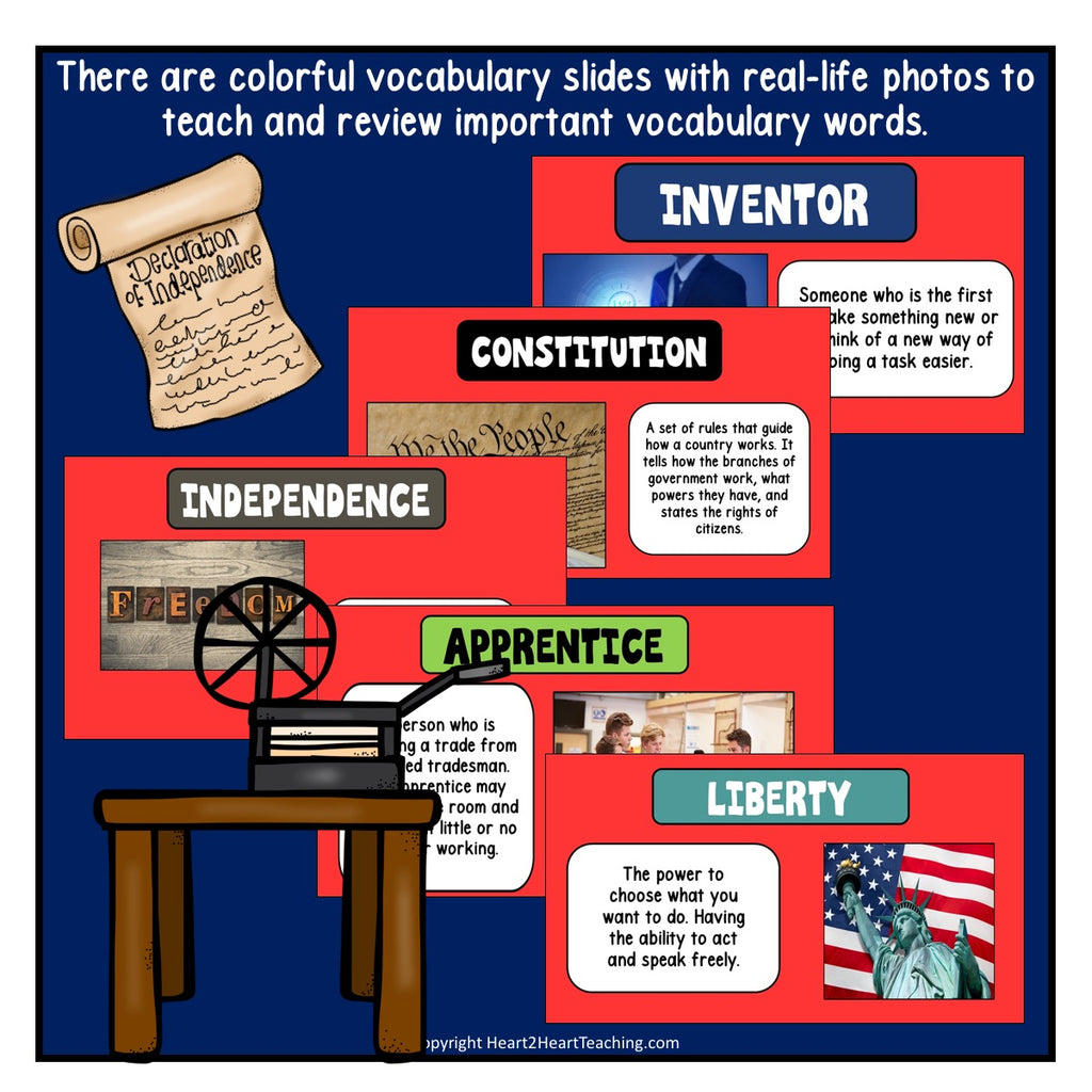 The Life Story of Benjamin Franklin Powerpoint
