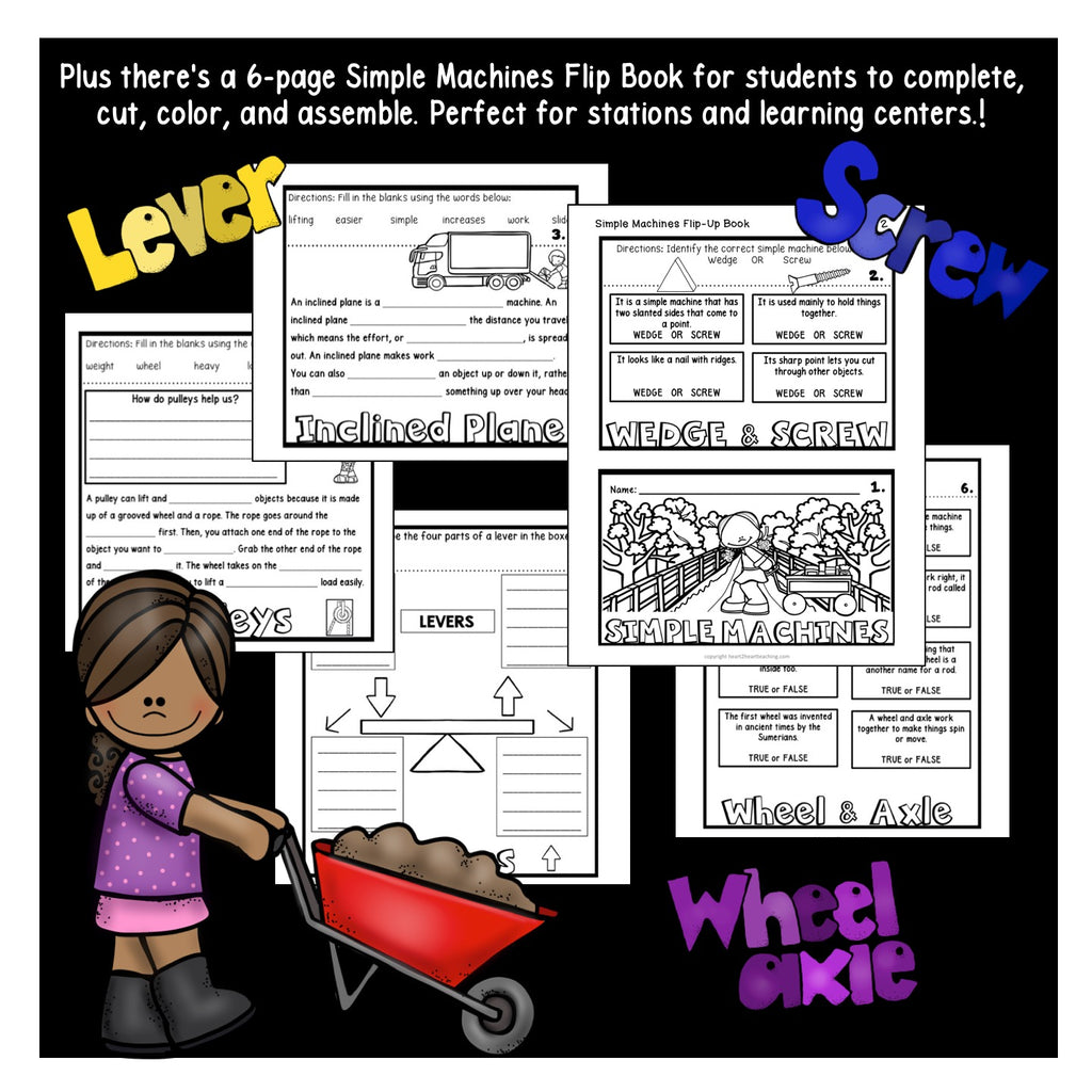 Simple Machines Activity Pack
