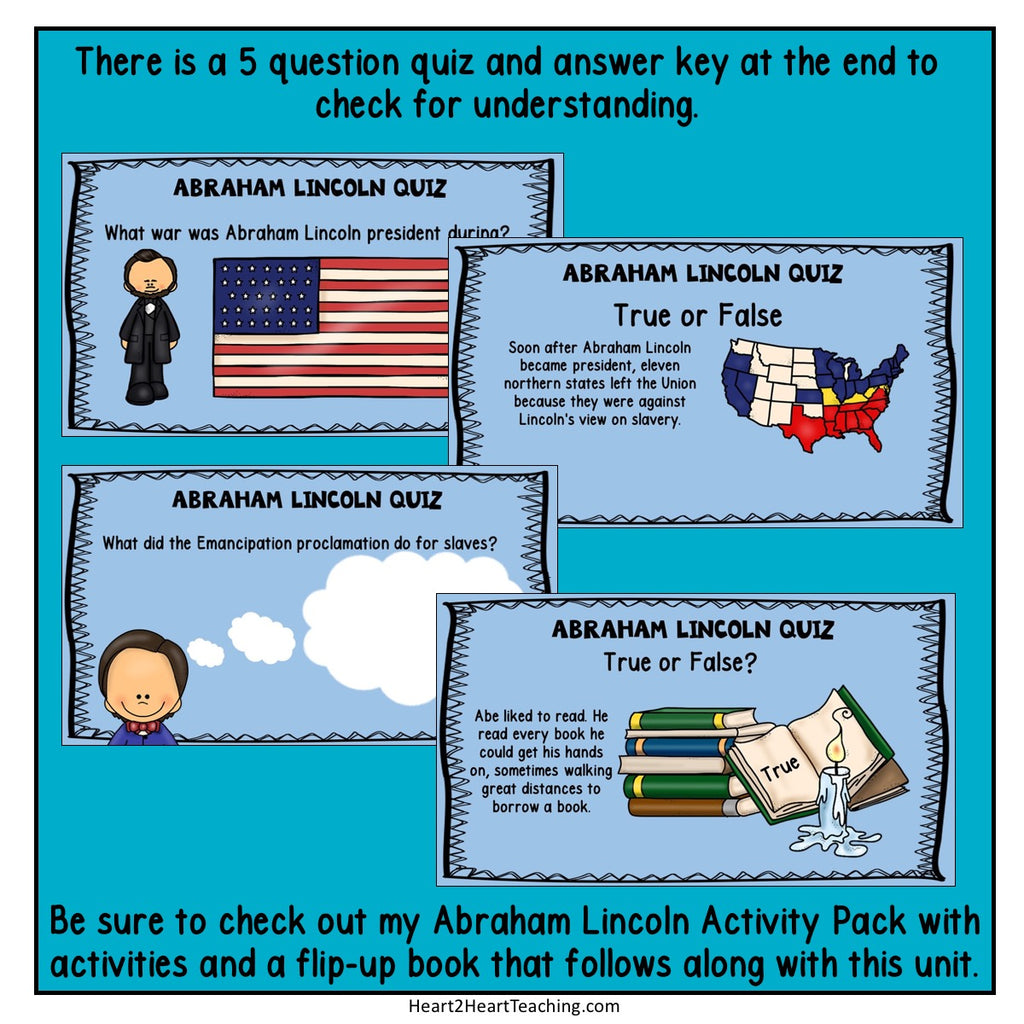 The Life Story of President Abraham Lincoln PowerPoint