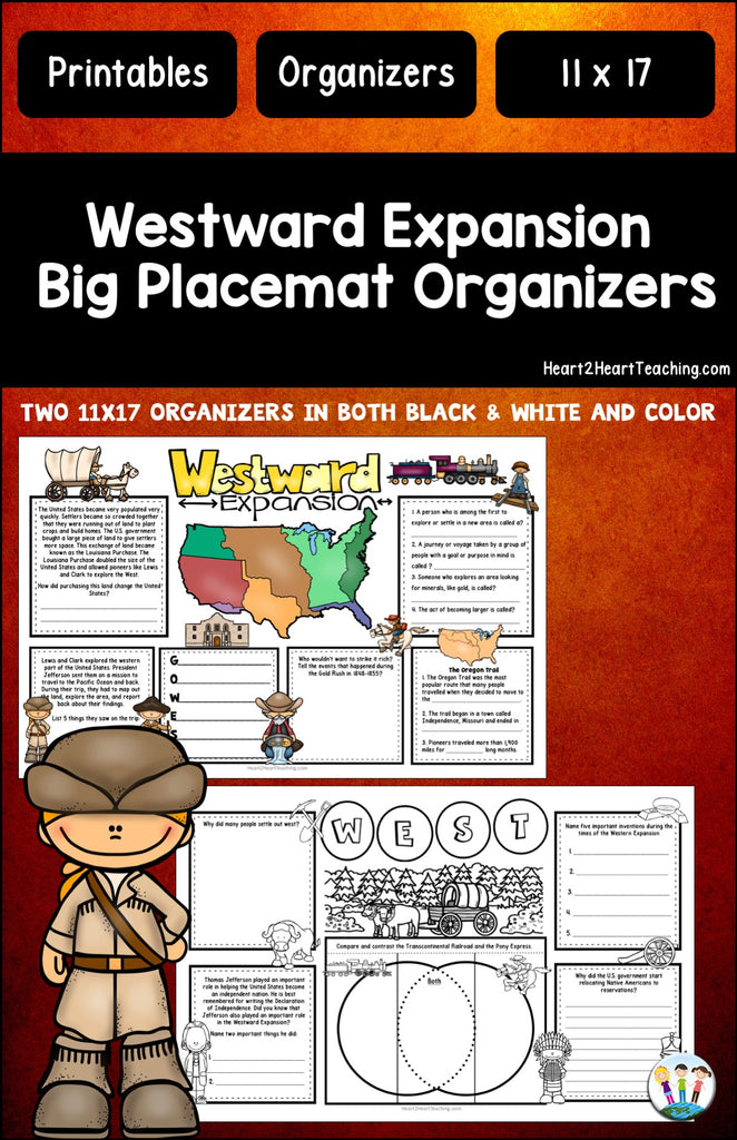 Westward Expansion BIG-MATS® are FUN in a BIG Way!