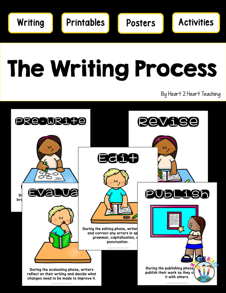 Writing Process Posters Freebie