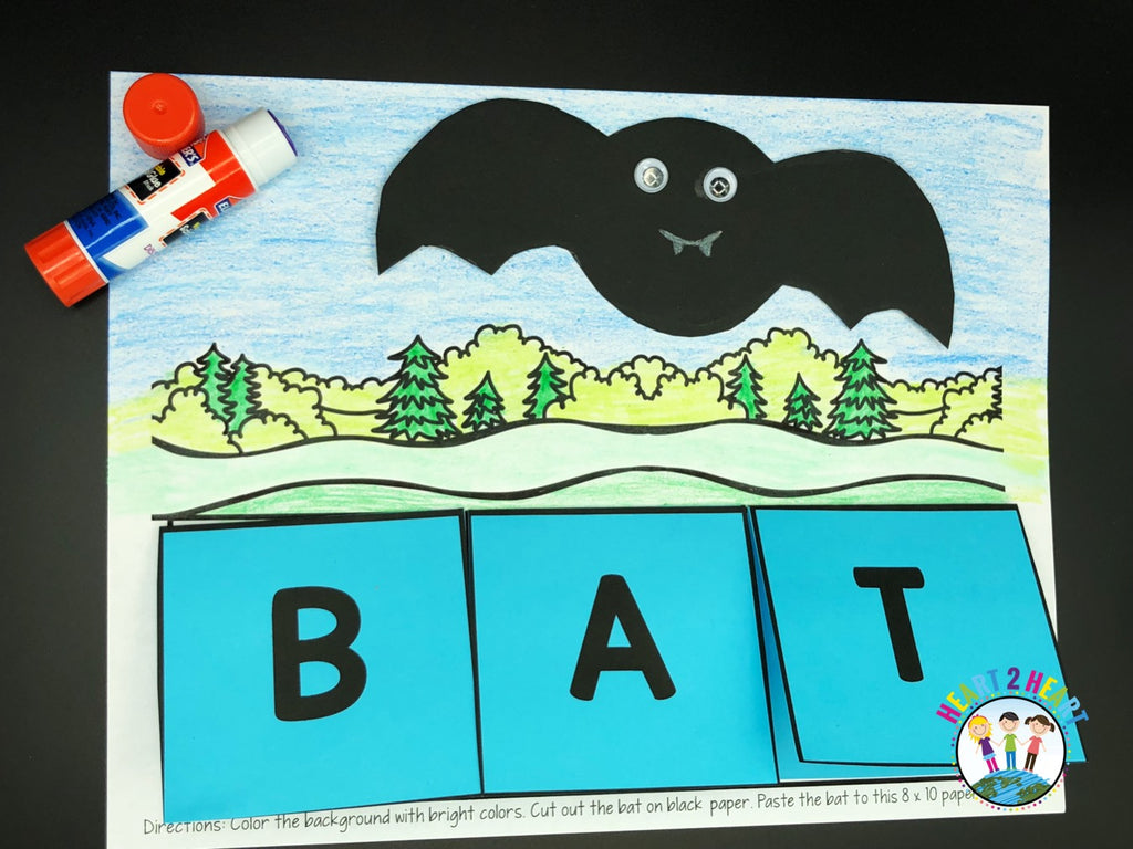 Bat Fact Flaps Freebie