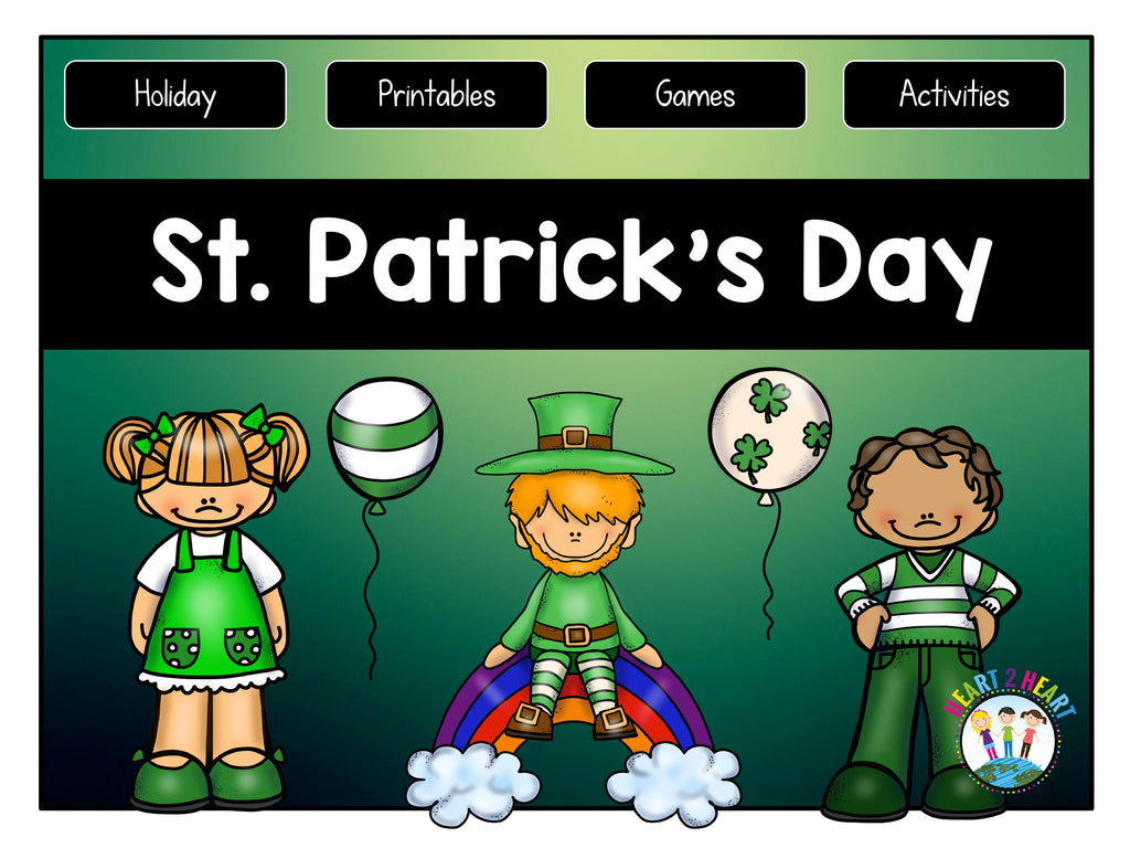 St. Patrick's Day Activities Freebie