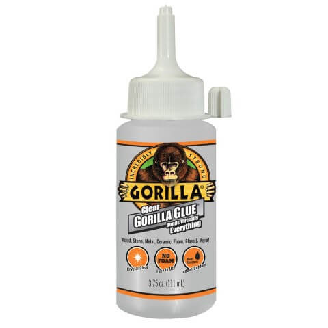 clear gorilla glue for eyechips