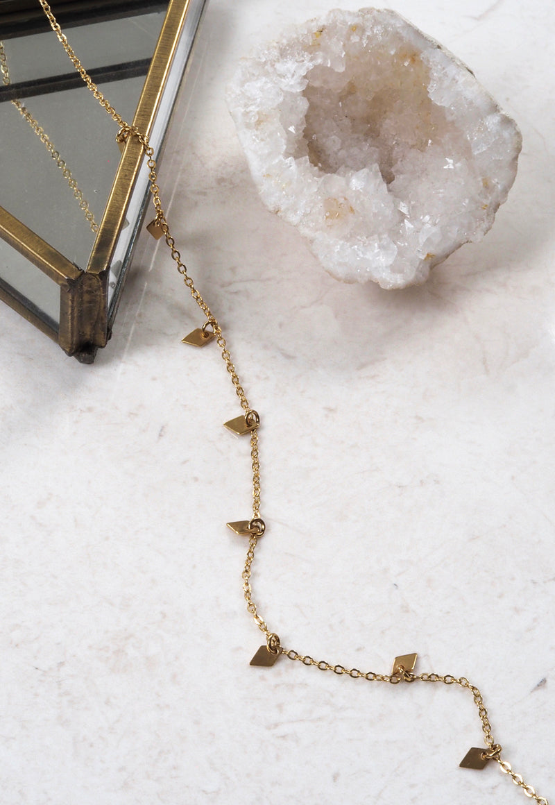 ELOISE. Gold Filled Delicate Layering Necklace