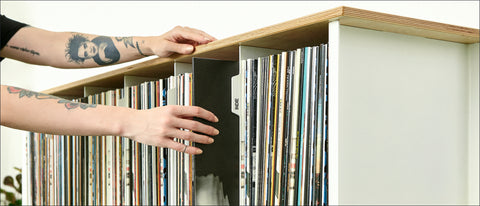 For The Record | Designer Record Vinyl Modular Storage