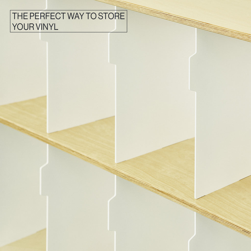FOR THE RECORD | Vinyl storage | modular shelving