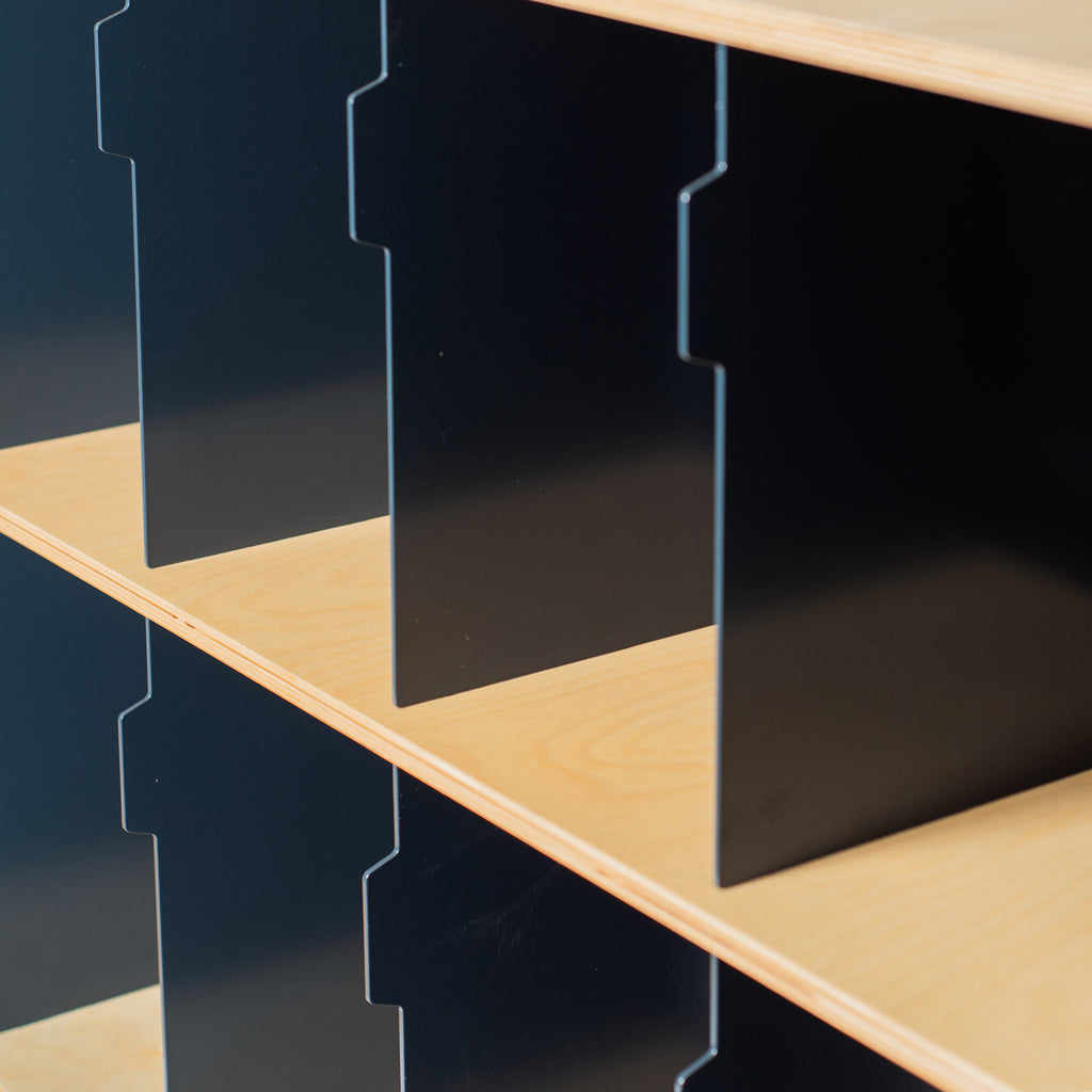 FTR Vinyl Storage | Additional Layer | Small - Indigo Blue - For the record vinyl storage