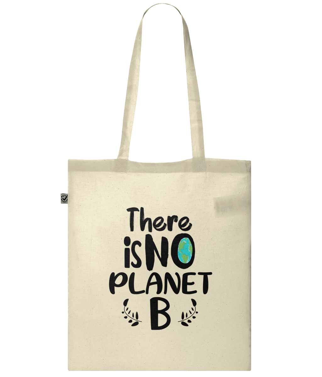 There is no Planet B Organic 100% Cotton Tote Bag