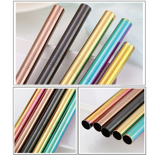 The Extra Wide Metal Straws